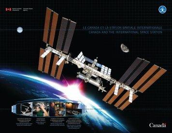 Version PDF du Canada et la station spatiale internationale