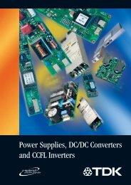 Shortform Catalogue PDF - TDK Electronics Europe GmbH