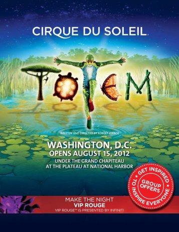 WASHINGTON, D.C. - Cirque du Soleil
