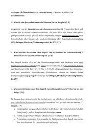 Musterlösung 2.Klausur