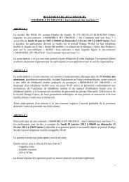 Règlement jeu-concours M6 MOBILE BY ORANGE jeu Comment ...