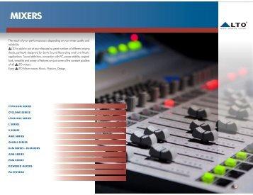 MIXERS - Alto, Music Passion Design