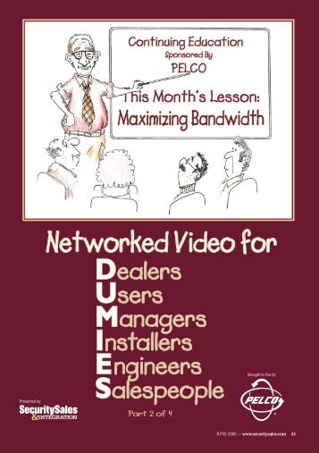 Networked Video for - Security Sales & Integration Magazine