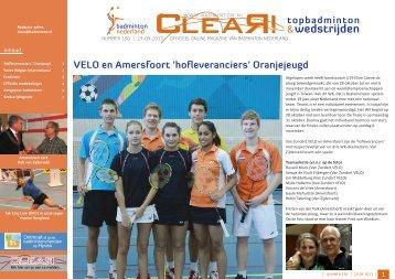 wedstrijden - Badminton Nederland
