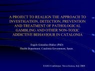 A project to realign the approach to investigation, detection ...