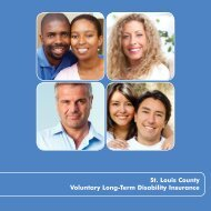 St. Louis County Voluntary Long-Term Disability Insurance