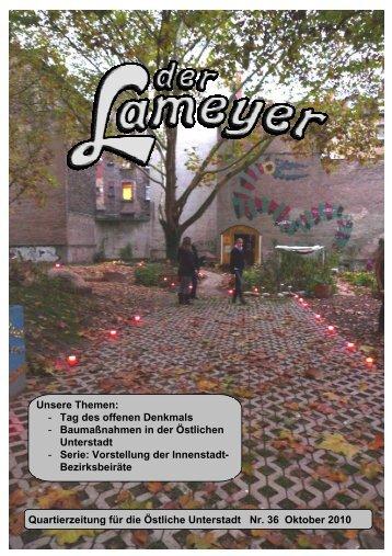 Der Lameyer - 2010 Nr.36 Oktober
