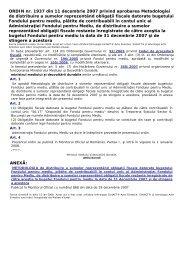 ORDIN nr. 1937 din 11 decembrie 2007 privind aprobarea ...