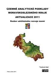 Rozbor udržitelného rozvoje území - Veřejná správa