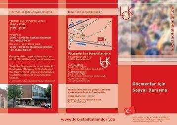 Göçmenler için Sosyal Danışma - LOK Stadtallendorf