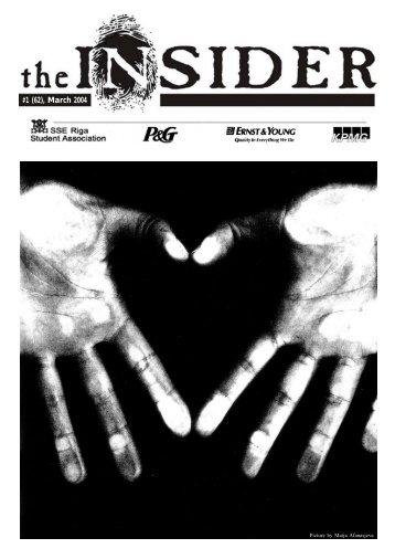 the Insider Digital Edition in PDF format - Stockholm School of ...
