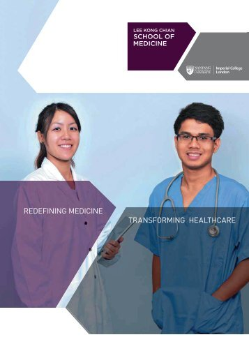 LKCMedicine Corporate Brochure - Imperial College London