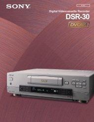 DSR-30 Brochure - Full Compass
