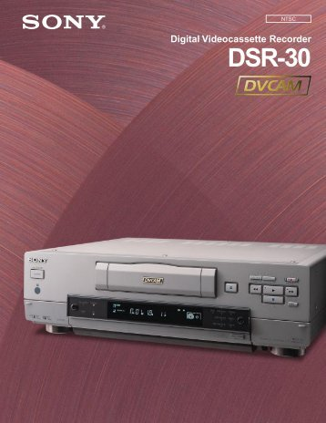 DSR-30 Brochure - Full Compass