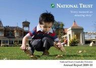 Annual Report 2009-10 - National Trust of Australia