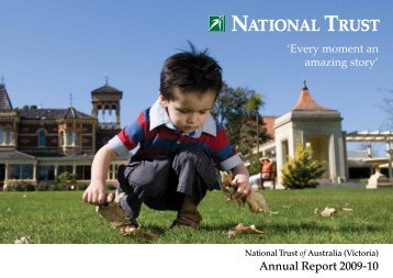 Annual Report 2009-10 - National Trust of Australia