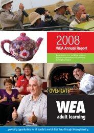 WEA Annual Report