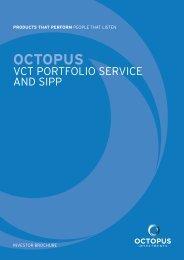 octopus vct portfolio service - Clubfinance