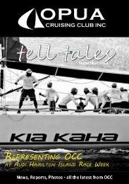 Tell Tales September - Opua Cruising Club