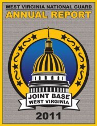 West Virginia National Guard Annual Report 2011