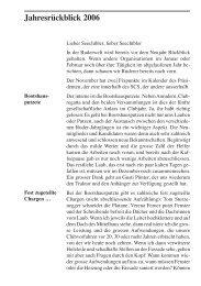 Stüürbord Ausgabe 2006-03 - Seeclub Stäfa