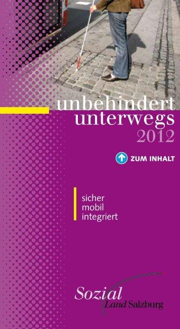 unbehindert unterwegs - Stadt Salzburg