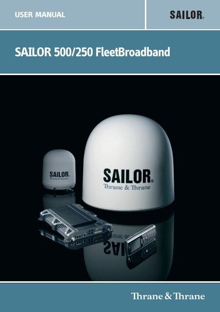 SAILOR 500/250 FleetBroadband