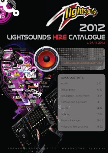 2012 - Lightsounds