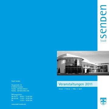 Veranstaltungen 2011 - Stadt Senden