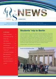 Students' trip to Berlin