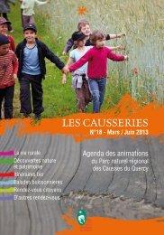 LES CAUSSERIES - Comité départemental du tourisme du Lot