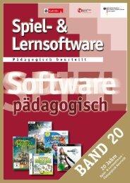 Spiel- und Lernsoftware - Pädagogisch beurteilt, Band 20 - Stadt Köln