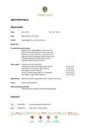 Protokoll 26.april 2013 - Hadeland