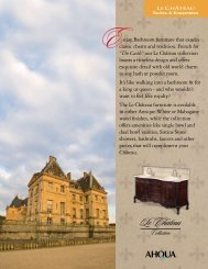 our Le Château collection boasts a