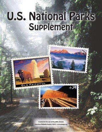 National Park Supplement - American Philatelic Society
