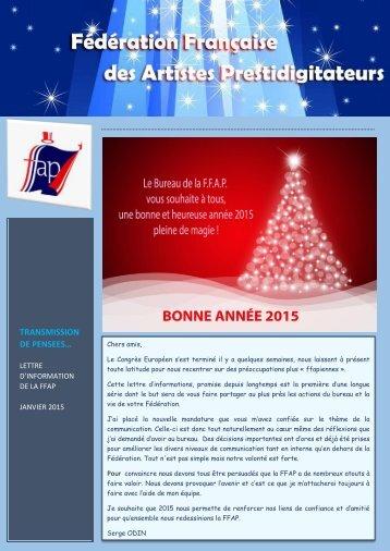 Newsletter FFAP N 01