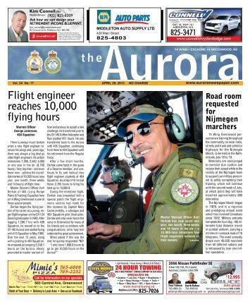 Apr 29 2013 - The Aurora Newspaper
