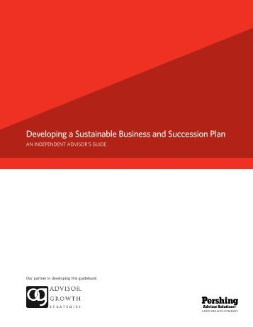 Developing a Sustainable Business and Succession Plan - Wealth ...