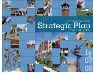 FY 2007-08 Strategic Plan Year-end Report - City of Irving, Texas