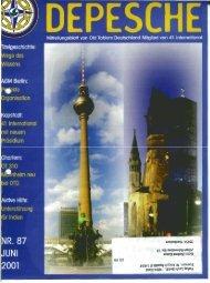 distriktspost - Old-Tablers Deutschland