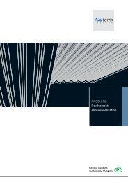 PRODUITS Revêtement anti-condensation - Aluform System GmbH ...
