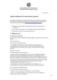 Allmän studieplan för licentiatexamen i japanska - Humanistiska ...