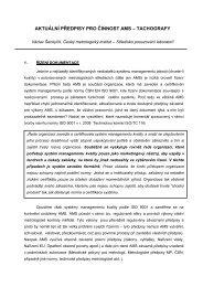 aktuální předpisy pro AMS - WEBAREAL.cz
