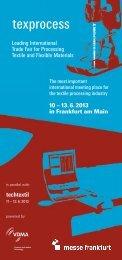 10 – 13. 6. 2013 in Frankfurt am Main Leading ... - messelogo