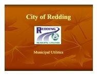 Redding Municipal Utilities - gotSWPPP?