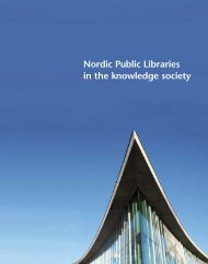 Nordic Public Libraries in the knowledge society
