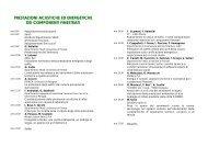 Programma - Dipartimento di Tecnologie dell'Architettura e Design