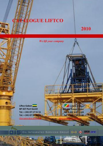 CATALOGUE LIFTCO 2010 We lift your company - OIS Group