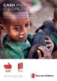 CALP: Cash and child protection - Humanitarian Response