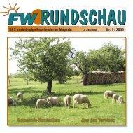 Gemeinde-Rundschau Aus den Vereinen Nr. 1 / 2006